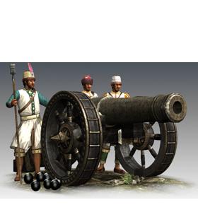 64-lber Heavy Artillery (ETW unit) - Total War Wiki