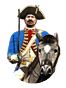 Unp netherlands horse guards icon cavs.png