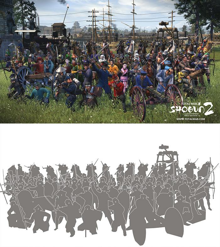 Shogun 2 Total War Units