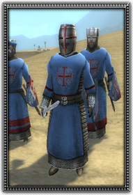 Dismounted Knights of Antioch
