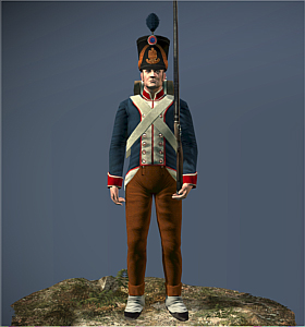 Fusiliers of line ntw unit total war wiki for Spa uniform france