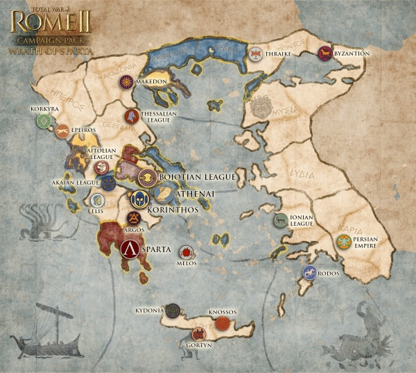 Wrath Of Sparta Campaign Pack - Total War Wiki