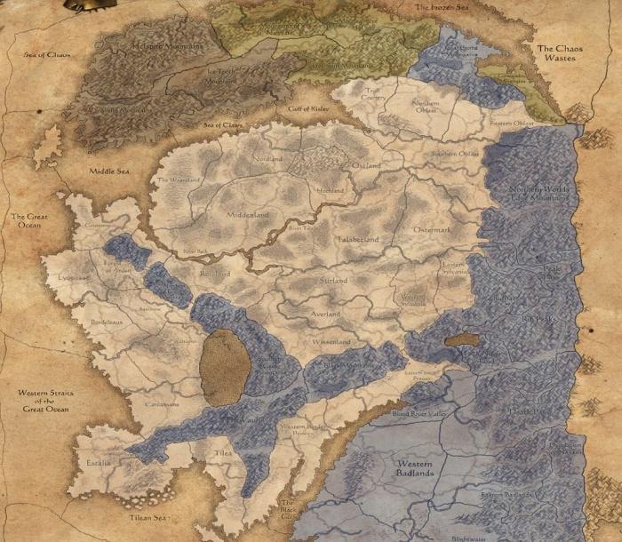 Блог разработчиков. Различия между расами в завоевании провинций в Total War: WARHAMMER